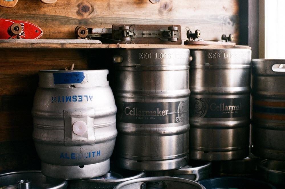 multiple kegs